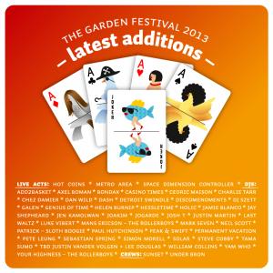 hot coins garden festival